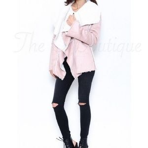 New Sexy Faux Suede Jacket